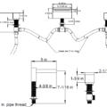 F2026S 120x120 - Artos Quarto Roman Tub set w/cube handles