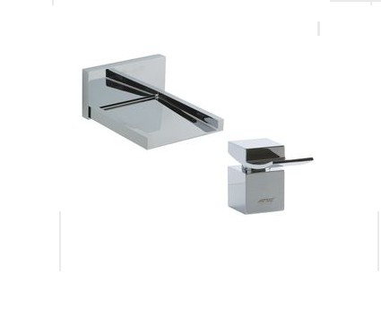 F202ALT4 - Artos Quarto Wall Mount Tub Filler w/deck mount control