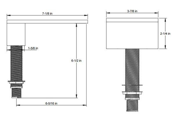 F4022S 600x396 - Artos Milan Deck Mount Tub Filler