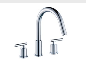 F50132LCH - Artos Opera Contemporary Widespread Faucet
