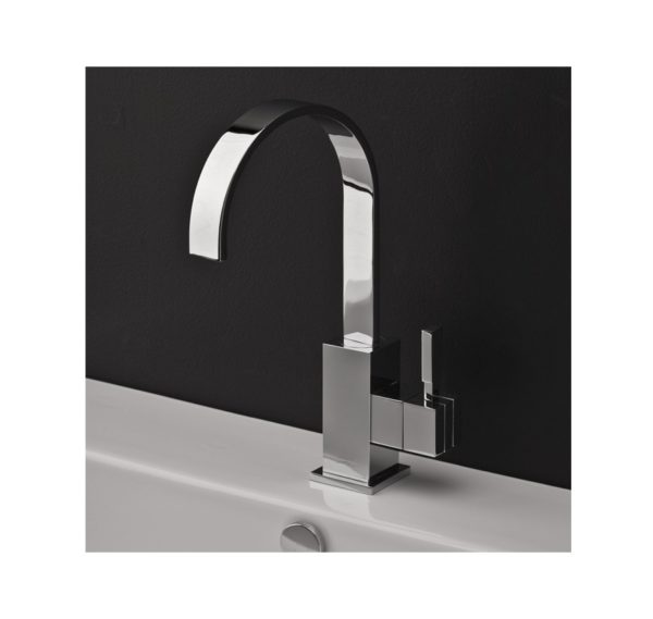 Lacava Kubista Single Hole Faucet-High Arc