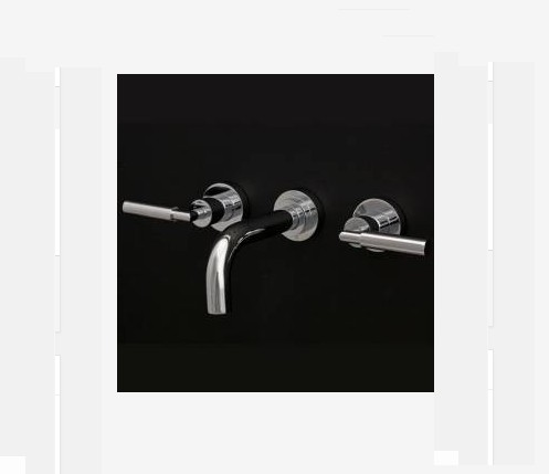 Lacava Cigno Wall Faucet w/Lever Handles