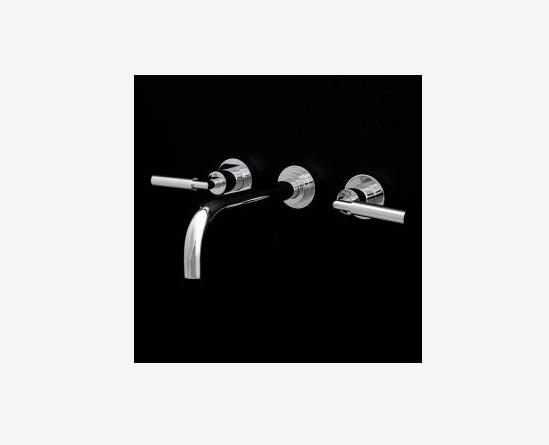 1584L - Lacava Cigno Wall Faucet w/Lever Handles