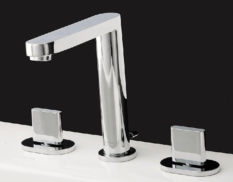 Lacava Tre Widespread Faucet-Knob Handle - Bathroom Vanities and More