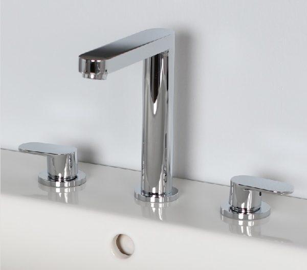 Lacava Tre Widespread Faucet-Lever Handle
