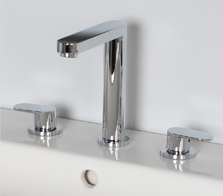 Lacava Tre Widespread Faucet-Lever Handle - Bathroom Vanities and More
