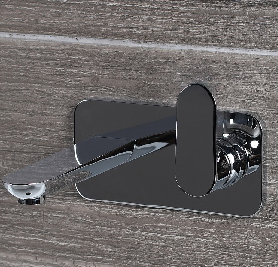 4114 - Lacava Contemporary Flou Wall Mount Faucet