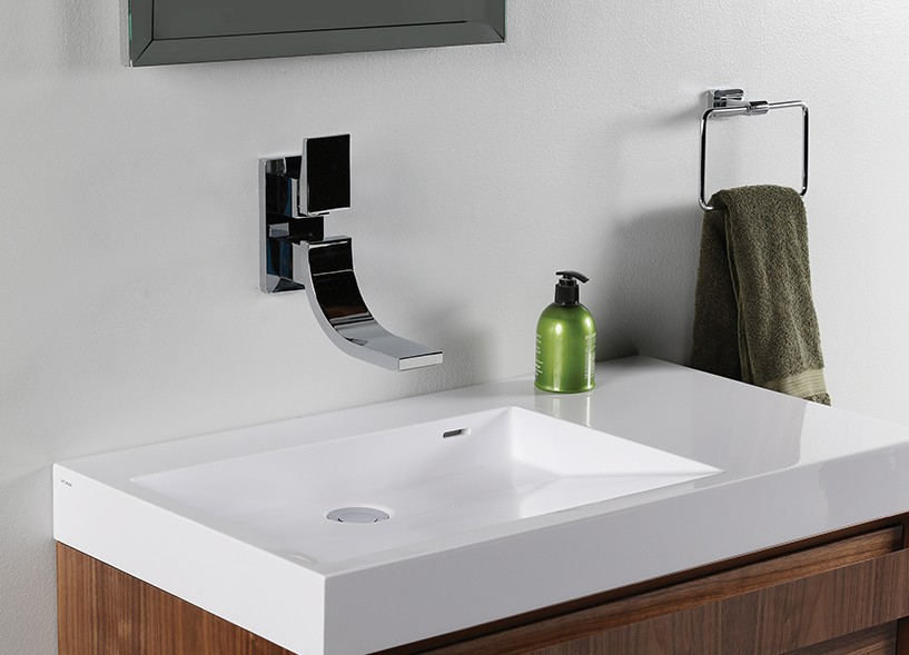 Lacava Suave Wall Mount Faucet - Bathroom Vanities and More
