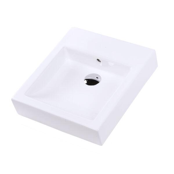 """5066a 600x600 - 17"""" Lacava Aquagrande Wall Mount Sink 5066A"""