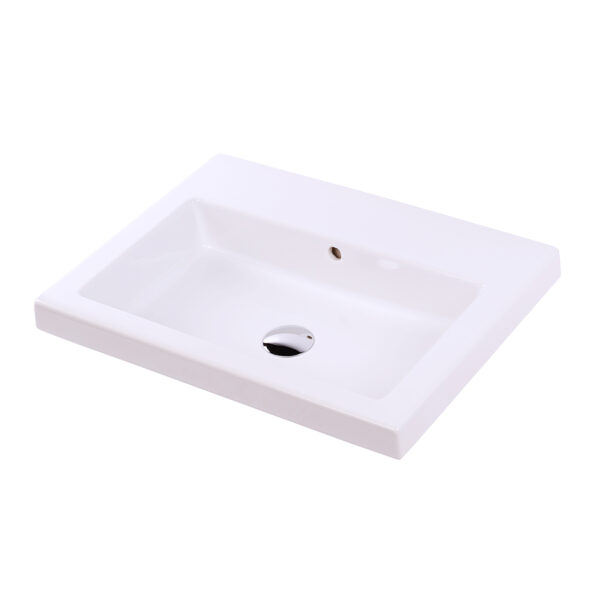 """5211 600x600 - 24""""  Lacava Aquaquattro Wall Mount Sink 5211"""